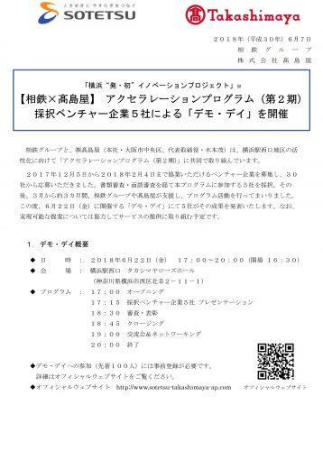"""横浜""""発・初""""イノベーションプロジェクト 「相鉄×高島屋アクセラレーションプログラム(第2期)」デモデイ開催!"""