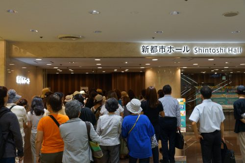 横浜女性起業家COLLECTION2018開場前の様子