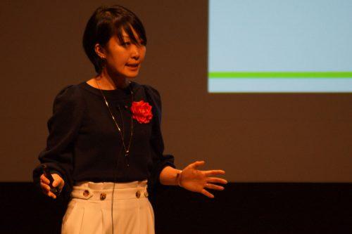 横浜バイオテクノロジー株式会社 小倉 里江子氏の写真