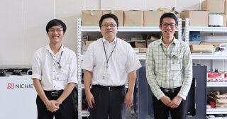 現場から生まれた自動化のアイデアで、世界の成形工場の効率化を目指す 横浜ビジネスグランプリ2020最優秀賞受賞者 ニチエツ株式会社 中村高志さん