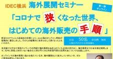 【6/18】海外展開セミナー「コロナで狭くなった世界、はじめての海外販売の手順」(オンライン)